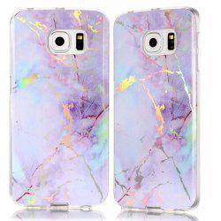 Luxury Ultra Thin Soft TPU Marble Case for Samsung Galaxy S6 Edge -