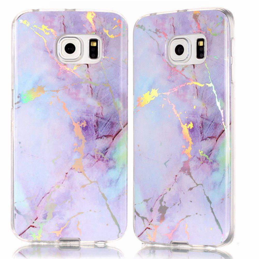 Fancy Luxury Ultra Thin Soft TPU Marble Case for Samsung Galaxy S6 Edge