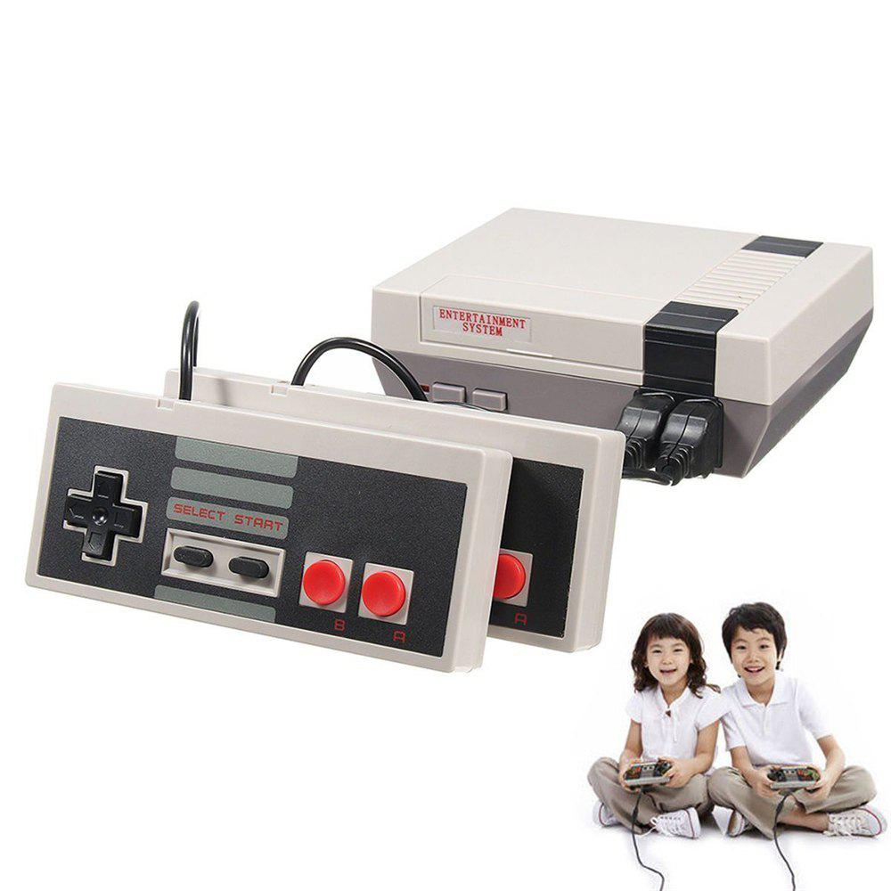 Fancy Mini Classic 620 Games Console Entertainment System with 2 Handle for NES Game