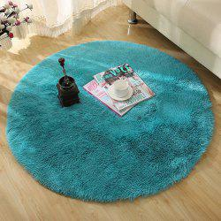 Round Rug  Simple Solid Design Multipurpose Floor Mat -