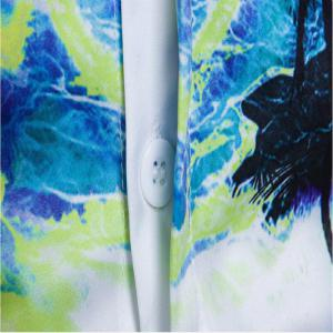 New Men'S Floral 3D Printing and The Wind Shirt DC44 -