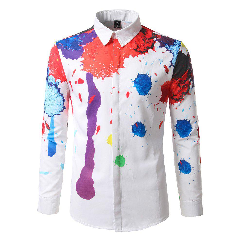 Trendy Men'S Shirts Are Creative printing InkDC65