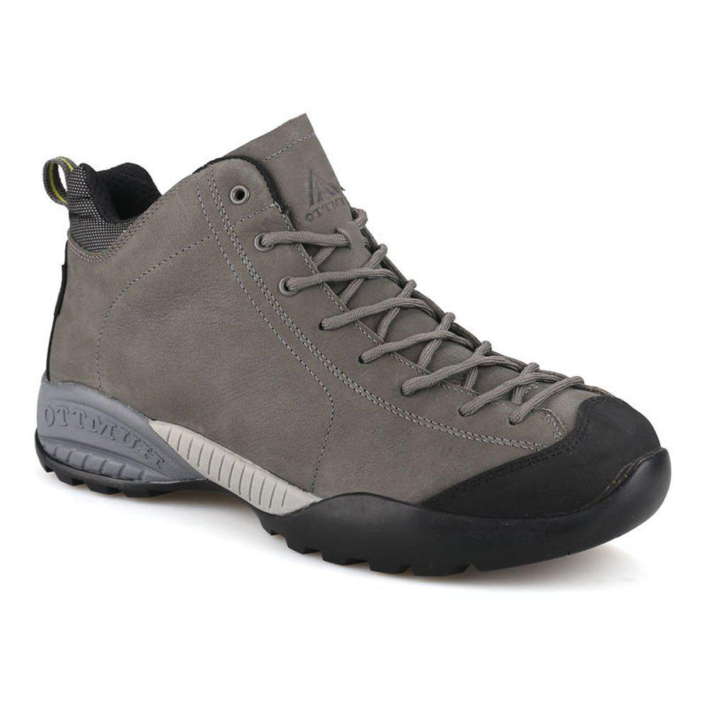 ab0f2b55835 HUMTTO Hiking Shoes Men Winter Leather Sneakers Climbing Boots