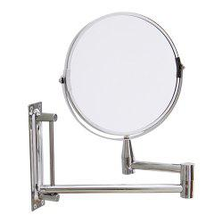 ORZ  Bathroom Makeup Mirror 3X Magnifying Wall Mount Dual Sided 7 inch -