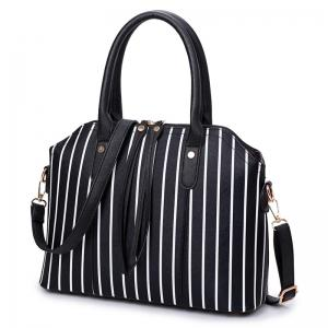 Fashion Seashells Mother Pack Four Pieces of Striped Handbag -