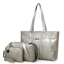 Tote Bag Simple Shoulder Bag Handbag Mother Pack Commuter Bag -