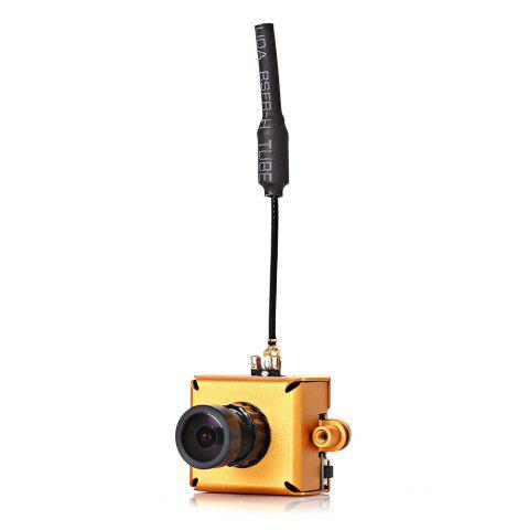 Affordable LST-S1 M8 800TVL CMOS Mini FPV Camera with 5.8G 40CH 25mW VTX 3dBi Whip Antenna