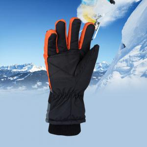 USB Electric Heating Winter Gloves Fingers Warm Waterproof -