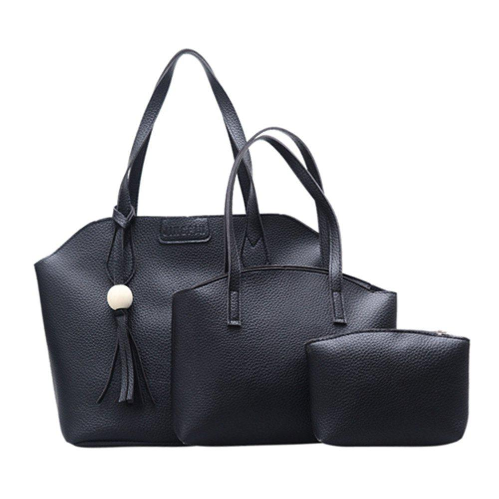 Latest Three Pieces Large-capacity Fashion Handbag Shoulder Bag