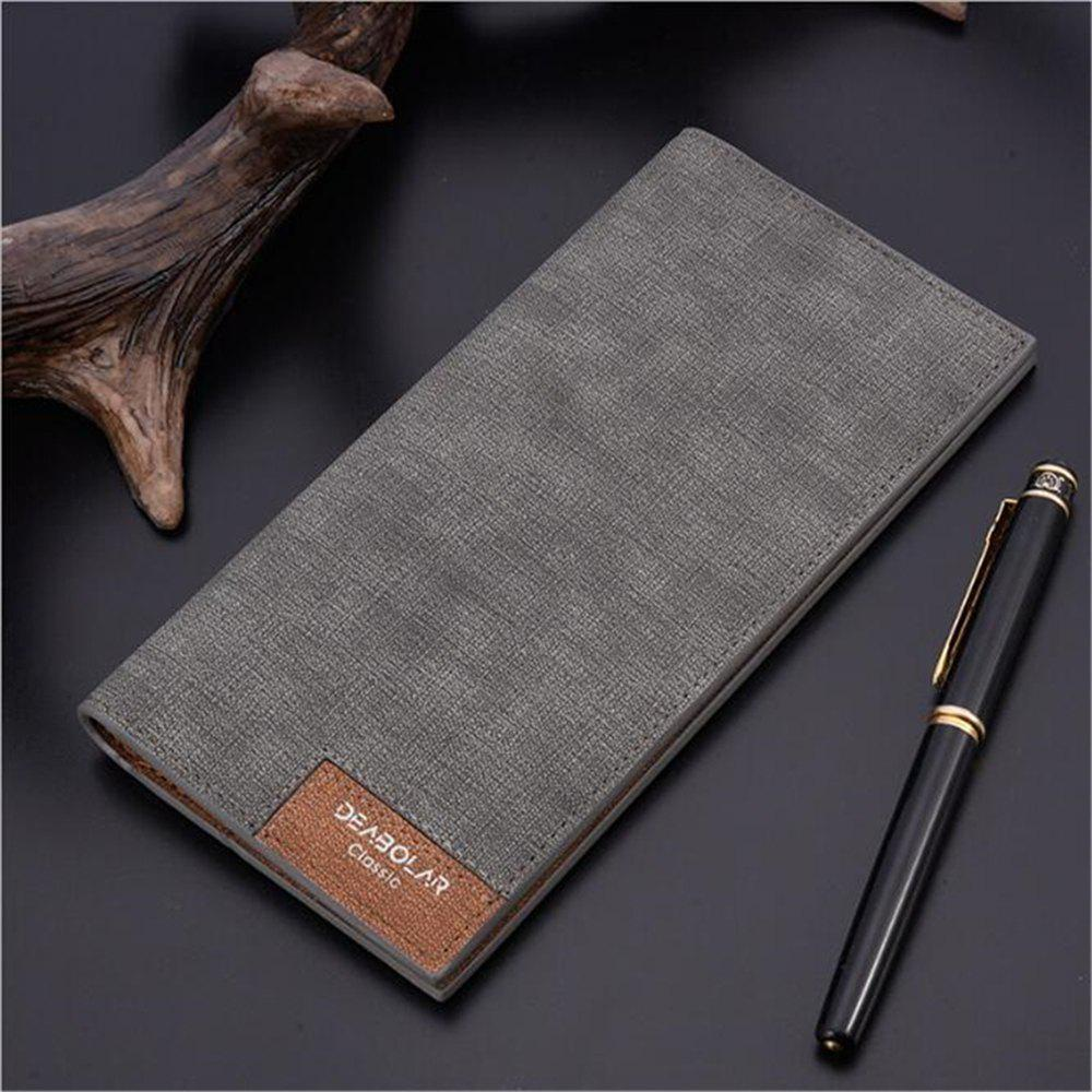 b809f8484283 Hot New Mens Wallet Fashion Retro Luxury Brand Leather Purse Men Wallets  Famous Brand Designer High