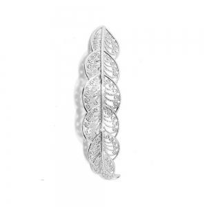 Women's Hair Clip Sweet Hollowed Leaf Lace Style Hair Pin Accessory -