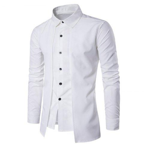 New Men's Daily Simple Spring Fall Shirt Personalized Shirt Casual Shirts