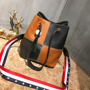 Three Pieces Handbag Litchi Pattern Shoulder Diagonal Handbags -