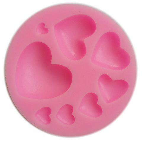Facemile Heart Silicone Fondant Cake Cupcake Jelly Tray Pan Mold Silicone DIY Tool Chocolate Mold Baking Decoration Tool