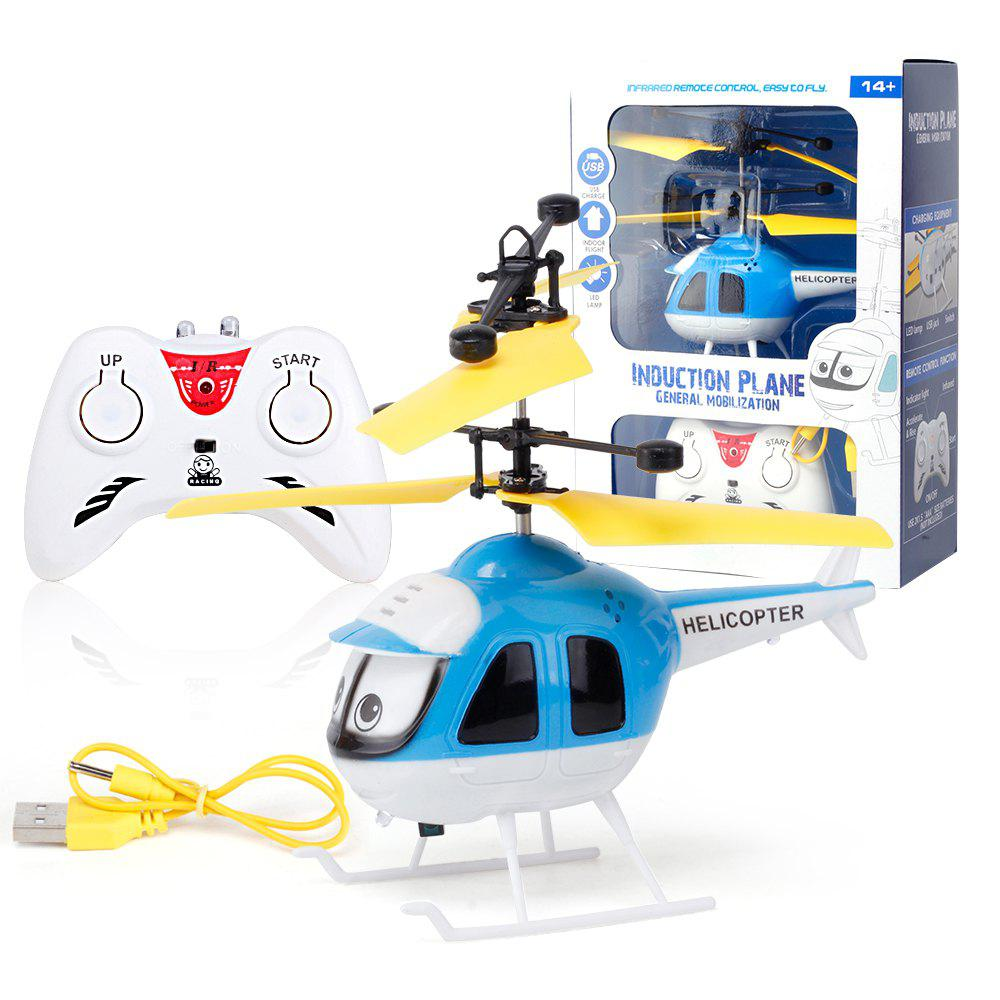 Buy Upgrade Mini RC Helicopter Induction Suspension Remote Controll Plane Toys