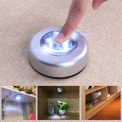 JUEJA LED Night Light Wall Mounted Closet Cabinet Touch Lamp for Wardrobe Step Stairs Aisle Car Kitchen -