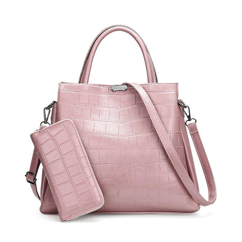 Hot Two-pIece Grain Fashion Hand The Bill of Lading Shoulder Bag