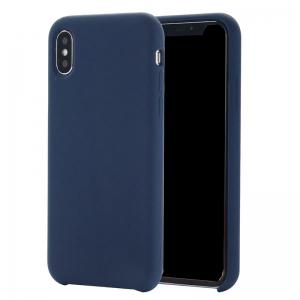 Pure Color Plain Weave Rear Case Cover for iPhone X -