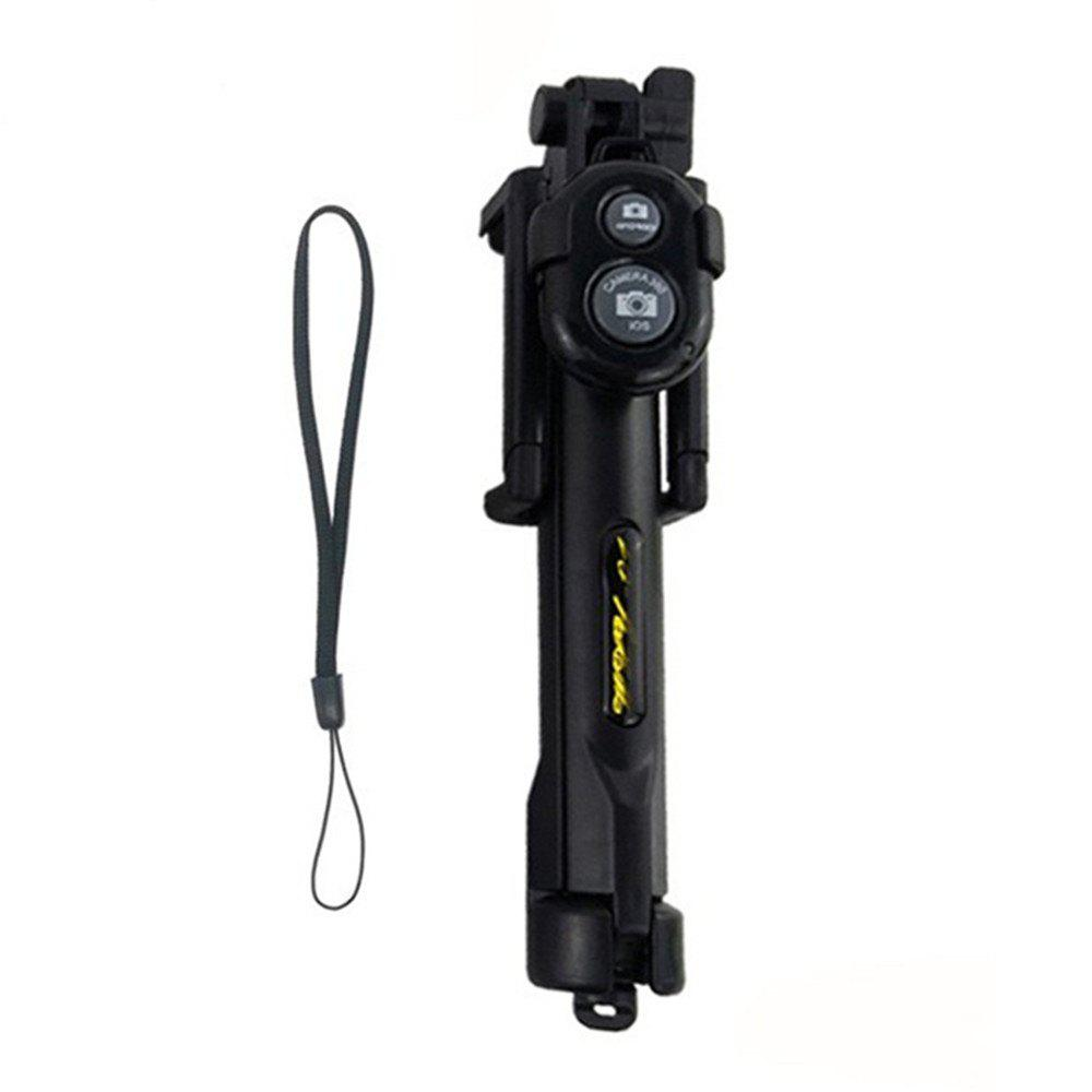 Affordable Extendable Monopod with Tripod Stand Bluetooth Selfie Stick for iPhone and Android