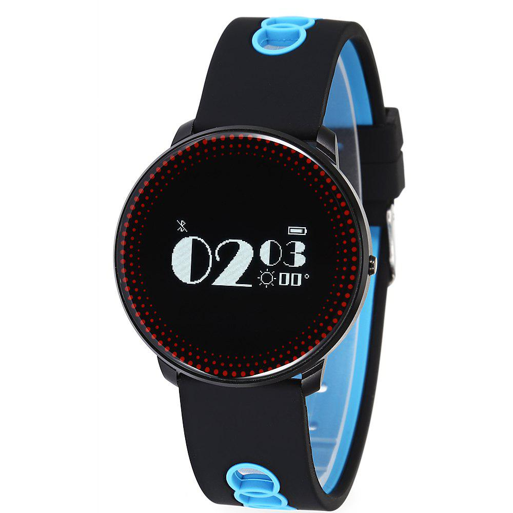 Online CF007 Smart Bracelet Heart Rate Monitor Blood Pressure Monitor SMS Whatsapp Notification Smart Band Sport Tracker