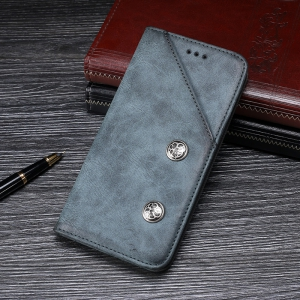 Retro Grain PU Leather Case for Elephone P8 -