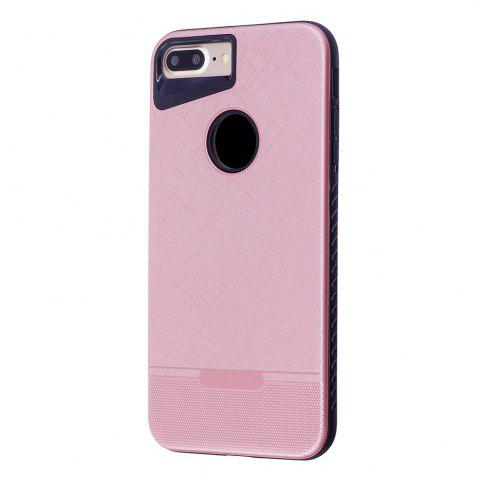 Chic Cloth Painting 2 In 1 Soft Protector Phone Case for iPhone 8 Plus