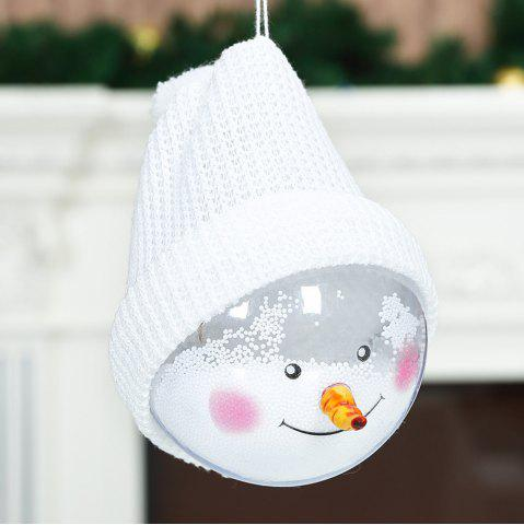 Buy Christmas decoration snowman transparent ball decoration doll Christmas tree pendant
