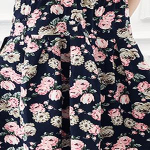 2018 New Spring All-Match Fashion Cotton Women'S Dress -