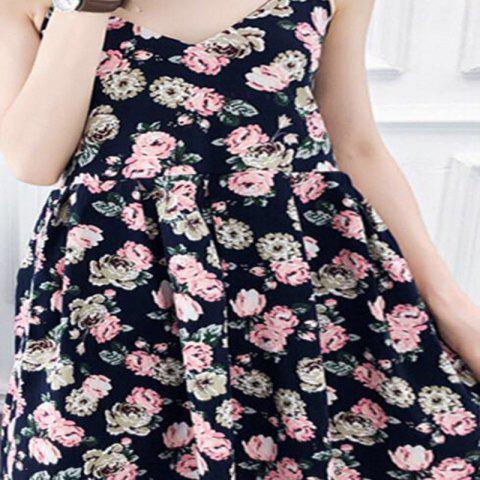 2018 Nouveau printemps All-Match Fashion Cotton Women's Dress