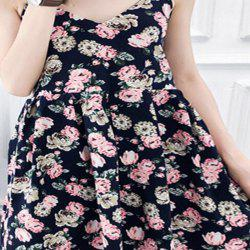 2018 Nouveau printemps All-Match Fashion Cotton Women's Dress -