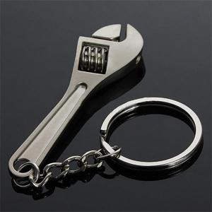 Creative Tool Wrench Spanner Key Chain Ring Keyring Metal Keychain Adjustable -
