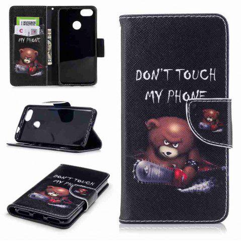 Buy Bear Painted PU Phone Case for HUAWEI P9 Lite Mini / Y6 Pro 2017