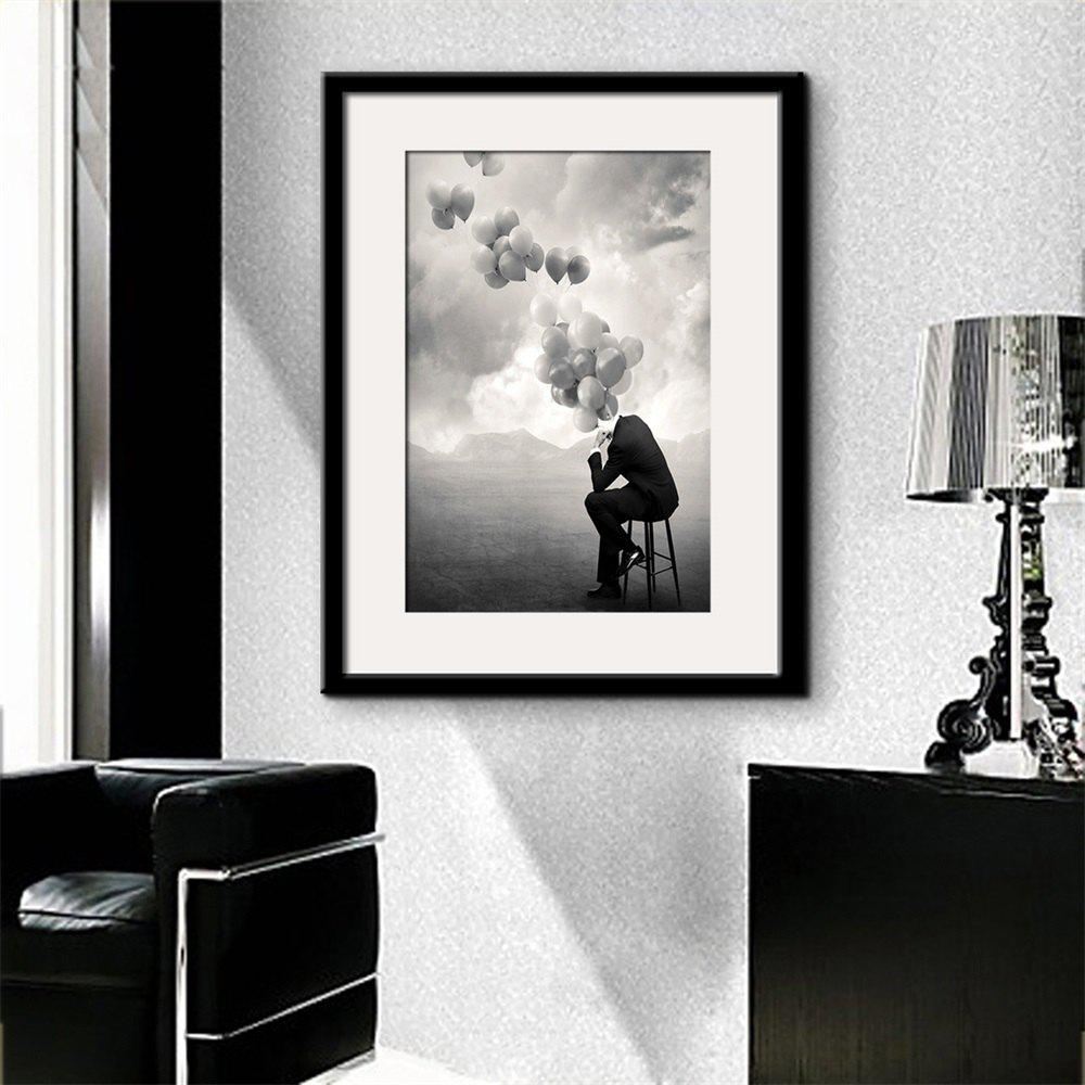 2018 Special Design Frame Paintings Shadow Print In Black 20 X 28 ...