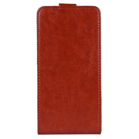 Shops Up and Down Crazy Horse Stripes Pu Leather Case for Elephone P8 Mini
