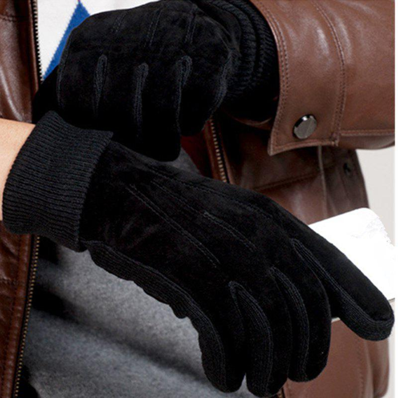 Best Winter Men's Gloves Are Fully Warm breathable Wear-Resistant and Wear-Resistant