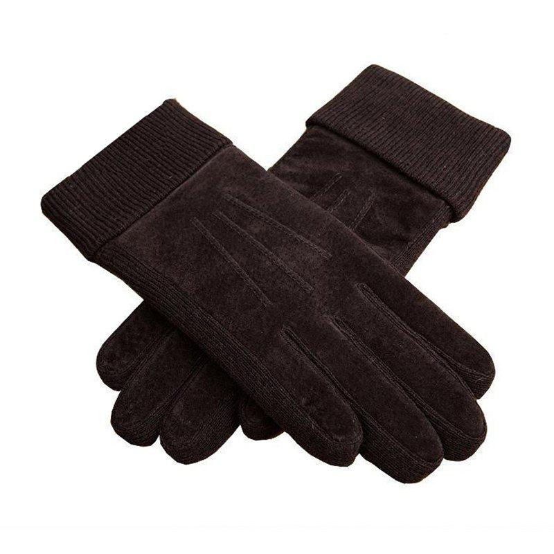 Trendy Winter Men's Gloves Are Fully Warm breathable Wear-Resistant and Wear-Resistant