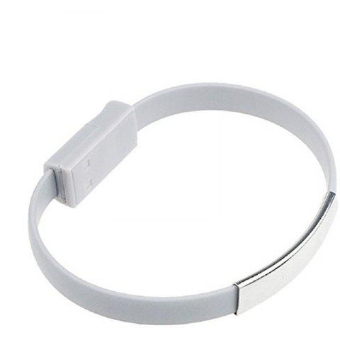 Trendy Colorful Mini Micro USB Bracelet Charger Cord for Type-C Devices