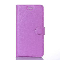Litchi Grain Card Wallet Case for Elephone P8000 -