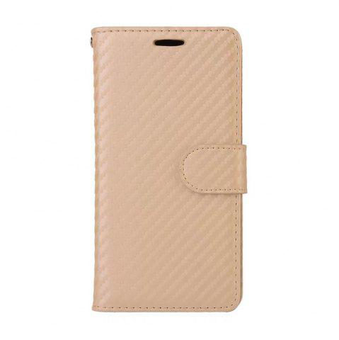 Online Carbon Fiber Pattern Flip PU Leather Wallet Case for Huawei Mate 10