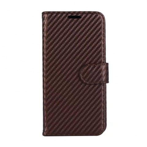 Latest Carbon Fiber Pattern Flip PU Leather Wallet Case for Huawei Mate 10