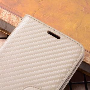 Carbon Fiber Pattern Flip PU Leather Wallet Case for Huawei Mate 10 Pro -