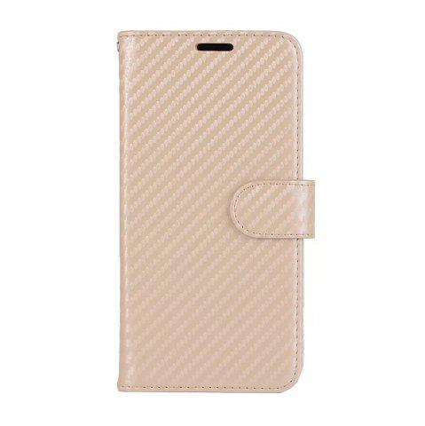 New Carbon Fiber Pattern Flip PU Leather Wallet Case for Huawei Mate 10 Pro