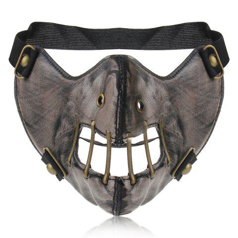 New Hot Pin Personality Punk Wind Power Flow Locomotive Mask