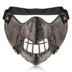 Hot Pin Personality Punk Wind Power Flow Locomotive Mask -