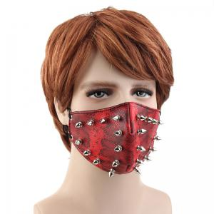 Personality Tide Punk Wind Proof and Dust-Proof Outgoing Locomotive Face Mask -