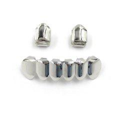 Hip Hop 18K Gold Plated Teeth Grillz -