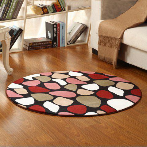 Colormix 60x60cm Mat Cute Colorful Stons Pattern Anti Slip Floor Rug ...