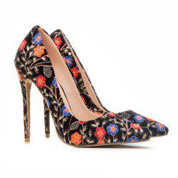 Women's Shoes Pointed Toe Pump Stitching Lace Customized Materials Stiletto Heel -