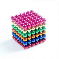 Magnetic Balls (5MM Set of 216 Balls) DIY Multicolor Stainless Steel  Sculptures  Healing  Creative Toys Magic Cube -