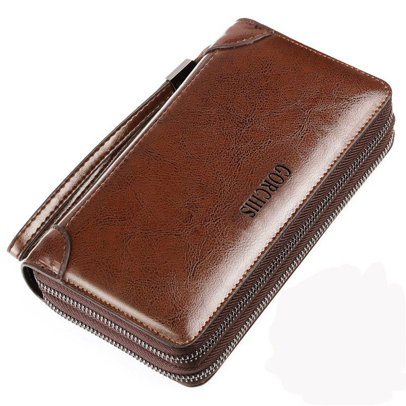 Buy Men's Clutch Bag Faux Leather Large Capacity Stylish Bag